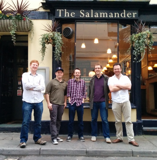 Straight after the podcast, we headed into Bath and the Salamander pub for a fantastic evening with Jake, the awesome 1,337 meal contributor from our Indiegogo campaign. Thanks Jake!