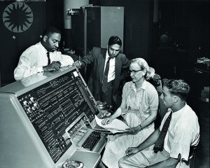 Grace Hopper at a UNIVAC, 1960