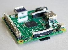 256MB RAM, Micro SD card slot, 40 GPIO pins, 1 x USB port.